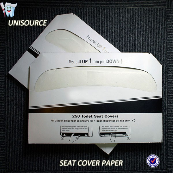 disposable toilet seat cover paper