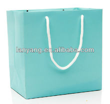 Customized Craft Paper Bags Shopping Tote Carrier Personalized Bag LOGO