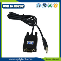 2016 Upfly High Speed UT-810 Converter Driver USB2.0 To RS232 Converter Support Win7/8/10