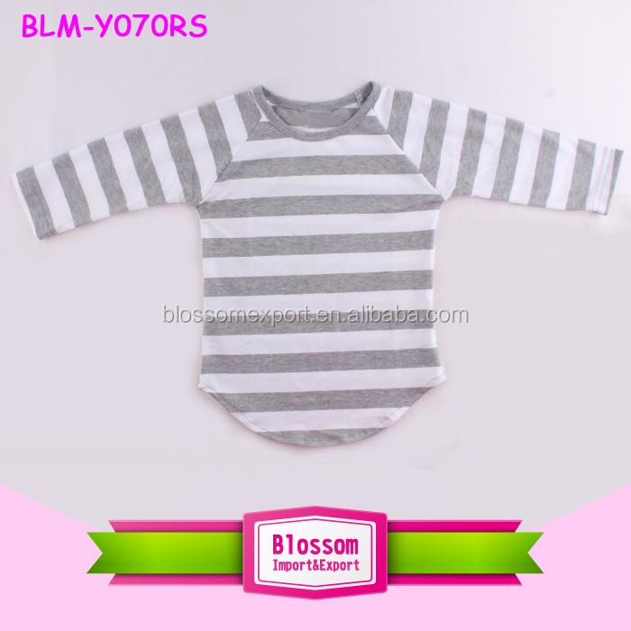 Baby Frock Design Fancy Boys Baseball Raglan Long Sleeve Blank Boutique Toddler Baby Kids Children Raglan Shirts