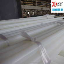 Natural Color Extruded Nylon engineering plastics rod