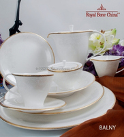 ROYAL BONE CHINA BY ROYAL PORCELAIN THAILAND: BALNY GOLD