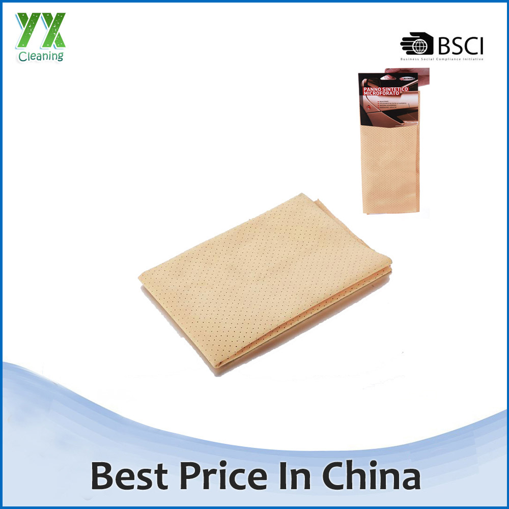 Super Water Absorption Quick Drying Synthetic Chamois Car Cleaning Cloth