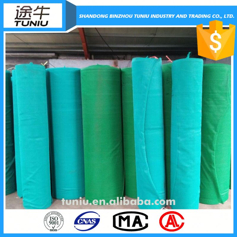uv knitted green shade net for outdoor canopy