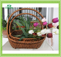 China supplier High quality handmade antique Gift willow basket