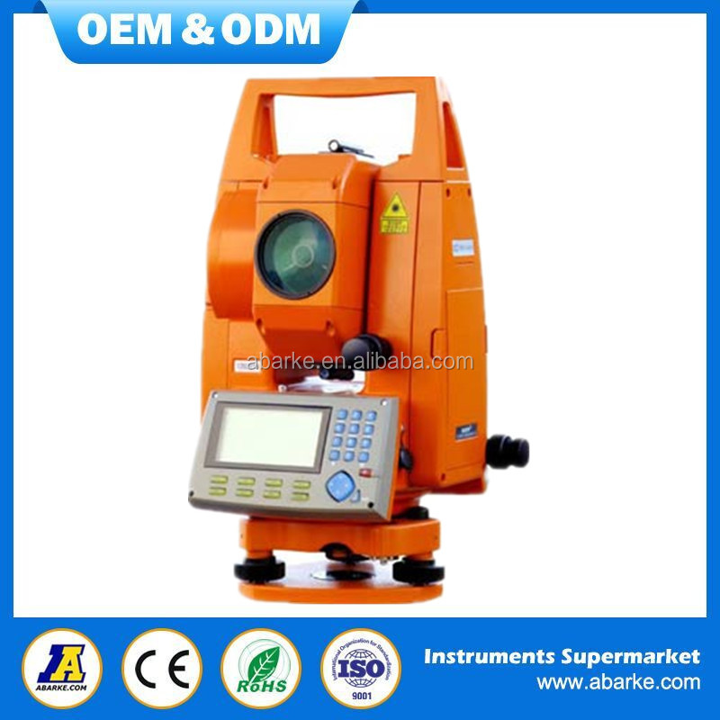 Surveying total station, best and low price reflectorless total station surveying instrument
