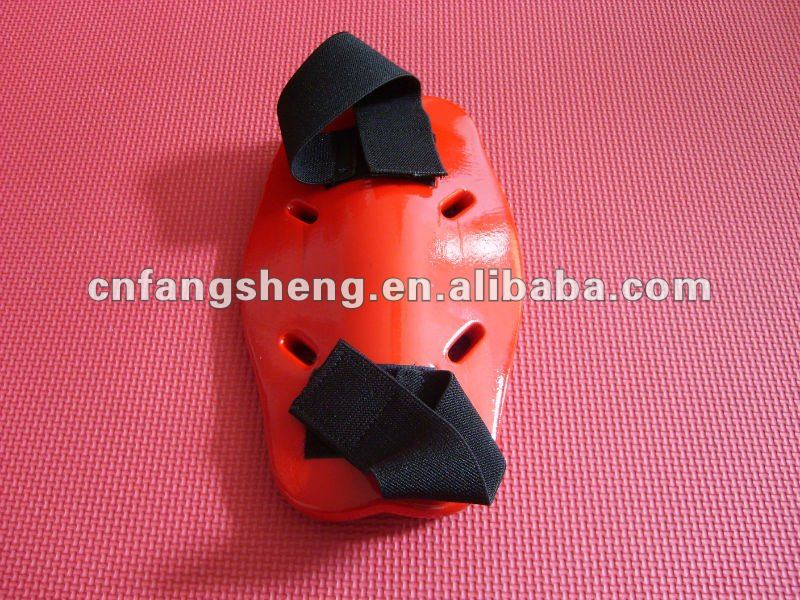top selling high durable Red PE foam sport arm protector Top quality NBR leather taekwondo hand guard