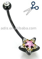 316LVM Surgical Stainless Steel Belly Ring