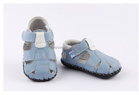 2016 New Freycoo Summer baby boy genuine leather shoes PB-1169