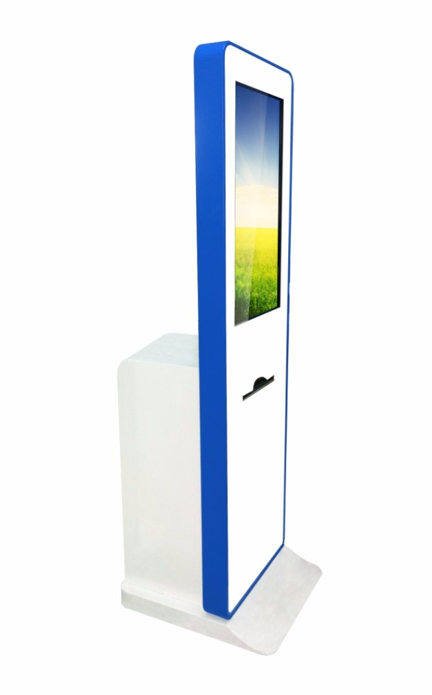 "2016 New! J 32"" LCD HD TFT 1920 1080P advertising photobooth with printer for color pictures"