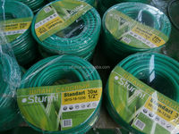 "Alice pvc braided garden hose 15m, 1/2"" & 5/8"" & 3/4"" available for France"