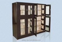 Stainless steel ancient office bookcase bookshelf for home library