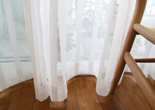 china stripe sheer high quality fancy cheap curtains