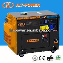 Air cooled small silent diesel genset 5 kva