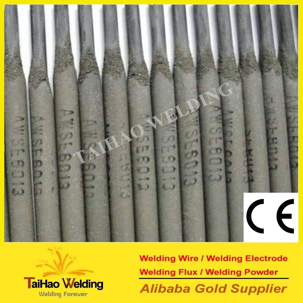 Factory Supply High quality Welding Rods / welding electrodes e6013 e7018