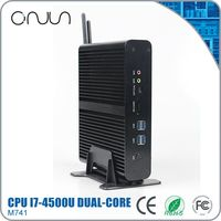 desktop computer i7 gaming desktop pc case from china intel fanless core pc 12v
