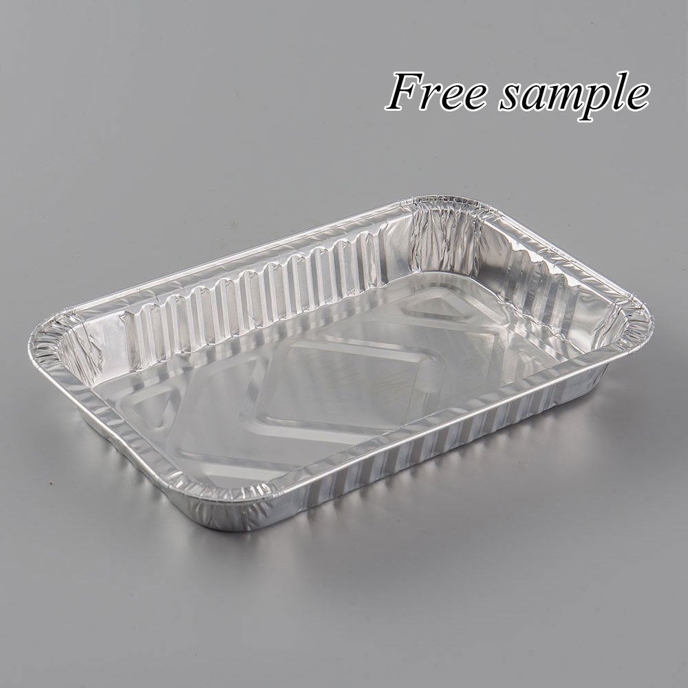 custom packaging box plastic disposable food container aluminum foil lunch box