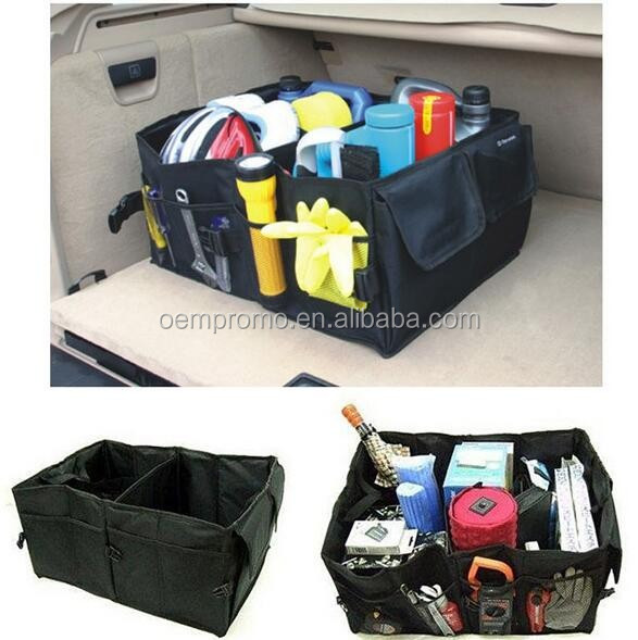 High Quality Collapsible Car Boot Organizer