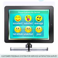 touch screen customer feedback terminal