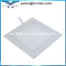 High quality machine grade square 12w dimmable led ceiling light