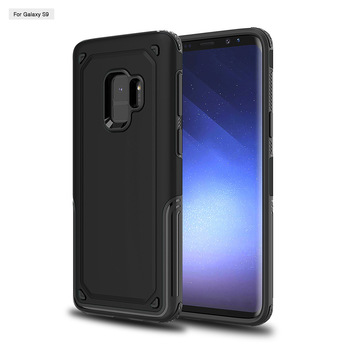 Heavy duty armor defender case cover for Samsung Galaxy S9 and S9 Plus
