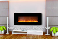 SAA passed home electric painted fireplace screen with remote control