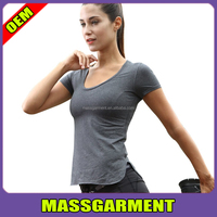 LATEST Women's Outdoor Yoga Gym Running Fitness Quick Dry T Shirt