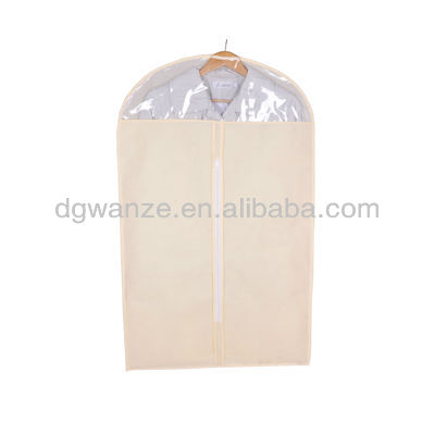 mens suit garment bags with transparent window
