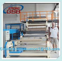 SH-2012A Excellent quality compact hot melt adhesive coating machine for adhesive label/protective film coating machine