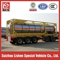 40 Ft Tank Container Semi Trailer