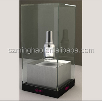 acrylic led magnetic levitation floating display stand