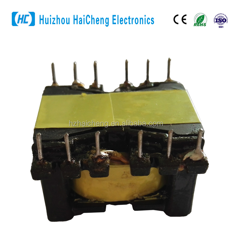 DIP high frequency ferrite core flyback transformer