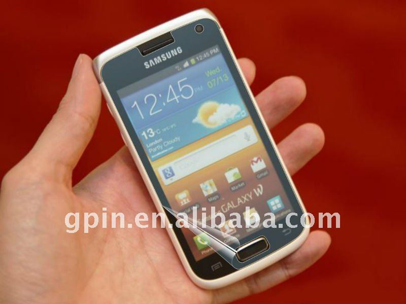 screen guard cover for Samsung Galaxy W i8150