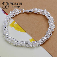 Dragon Head Shrimp Jewelry Attractive Silver Power Core Bracelet