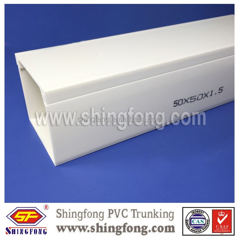 Low Price Electrical Plastic Cable Channels 100x40