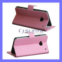 Stand Cases Cover For HTC One M7 Book Style Leather Case