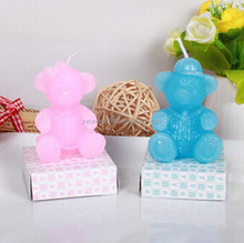 Bear Gift candle for Birthday party,box packing