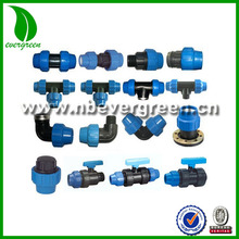 Kinds of Plastic PE Pipe PP compression fitting (7001-7013)