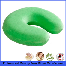 U-Shaped Neck Pillow, Travel Pillow Neck Support, Memory Foam Pillow For Travel On Airplane & Car