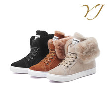 Cheap shoes wholesale ladies elegant durable boots casual winter shoes women