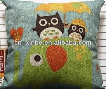 HOT Love Romance Owl Decorative Cotton
