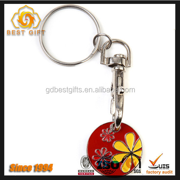 Unique custom zinc alloy keychain for women business gift