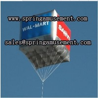 helium inflatable square balloon floating in the air SP-H038