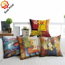 luxury colors faleless fashionable heat transfer Cushion for gift