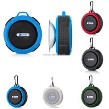 Suction Cup Shower Bluetooth Speakers With Camping Hook IPX 4 Waterproof