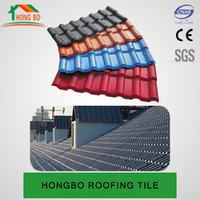 color coated synthetic resin spanish plastic lowes roofing shingles prices
