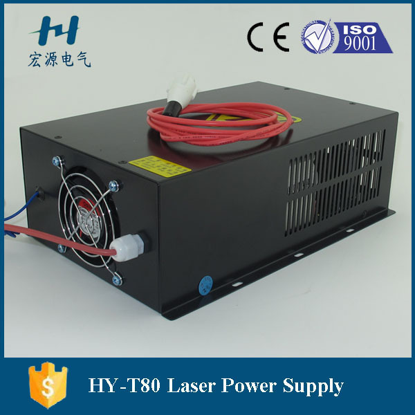 1600mm Length,60mm Diameter Laser Glass Lube Power Supply 80W