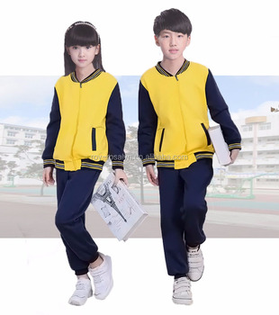 New design custom lovely student baseball uniforms