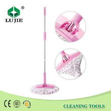 Household convenient easy cleaning magic automatic mini spin mop