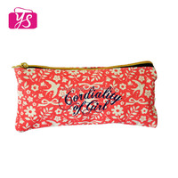 2014 Newly Design Canvas school Pencil Case for teenagers and girls